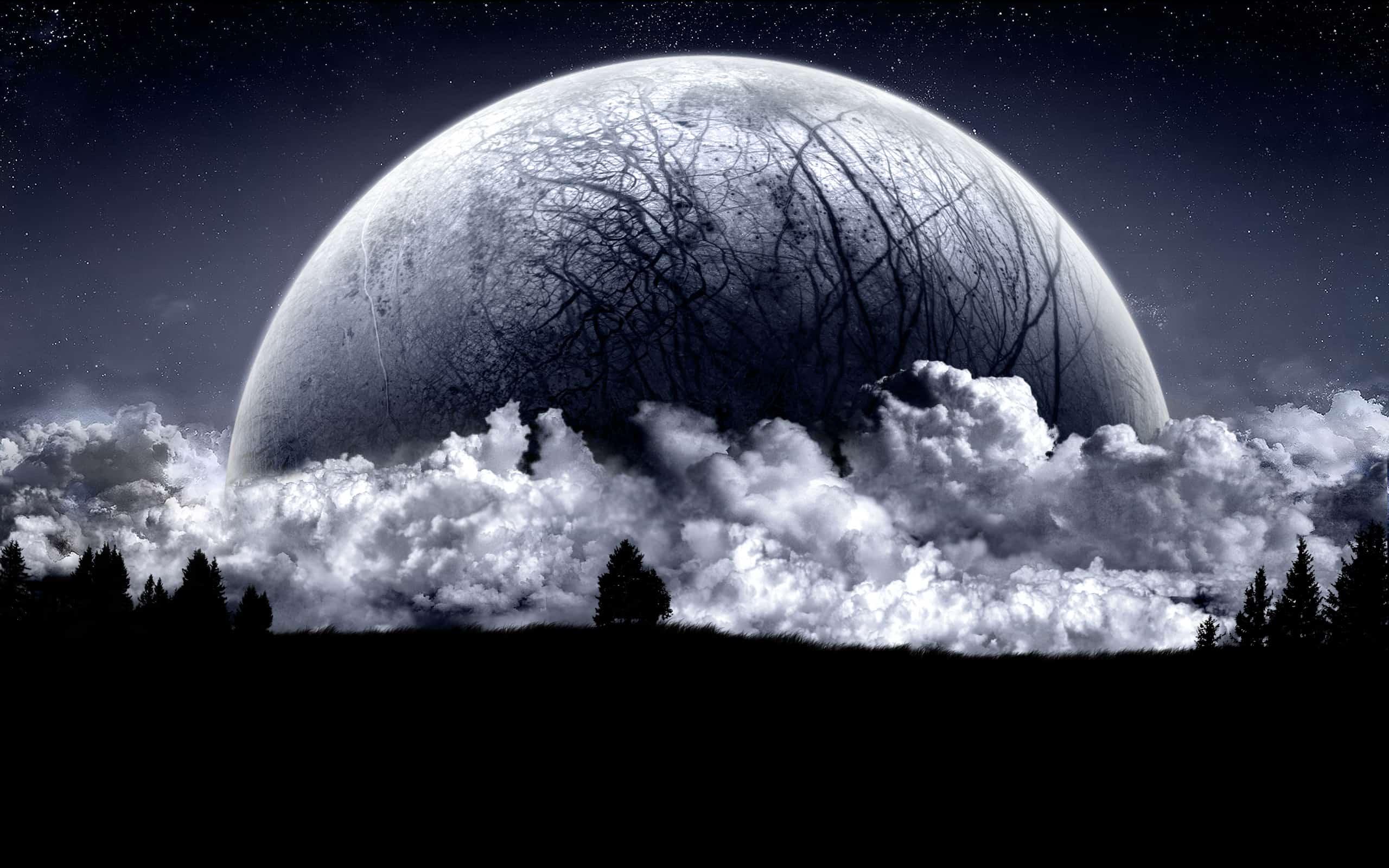 Луна очень сильно влияет на нашу жизнь