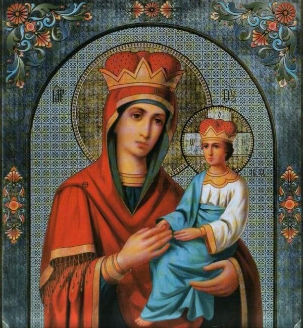 Богородица споручница грешных в чем помогает