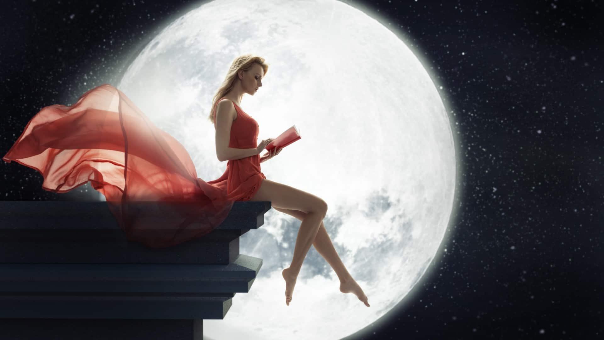 Луна серьёзно влияет на наше тело и жизнь