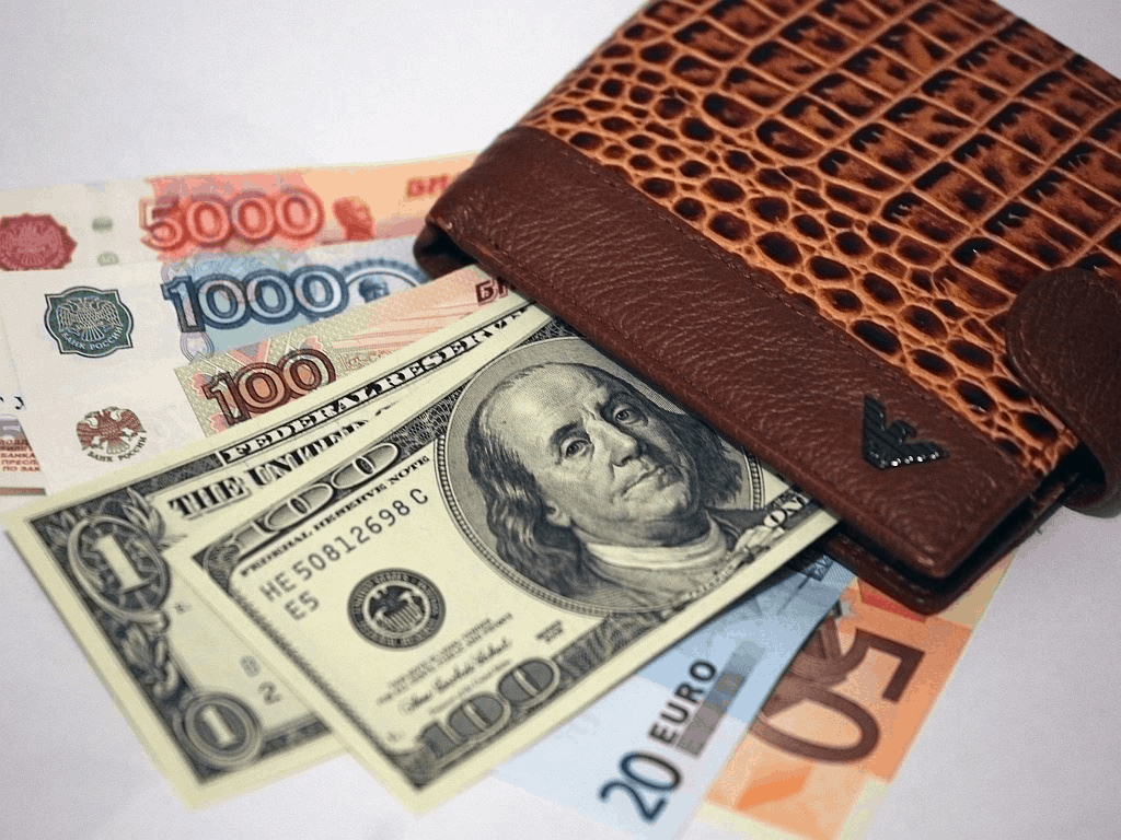 организуйте в кошельке денежное ассорти