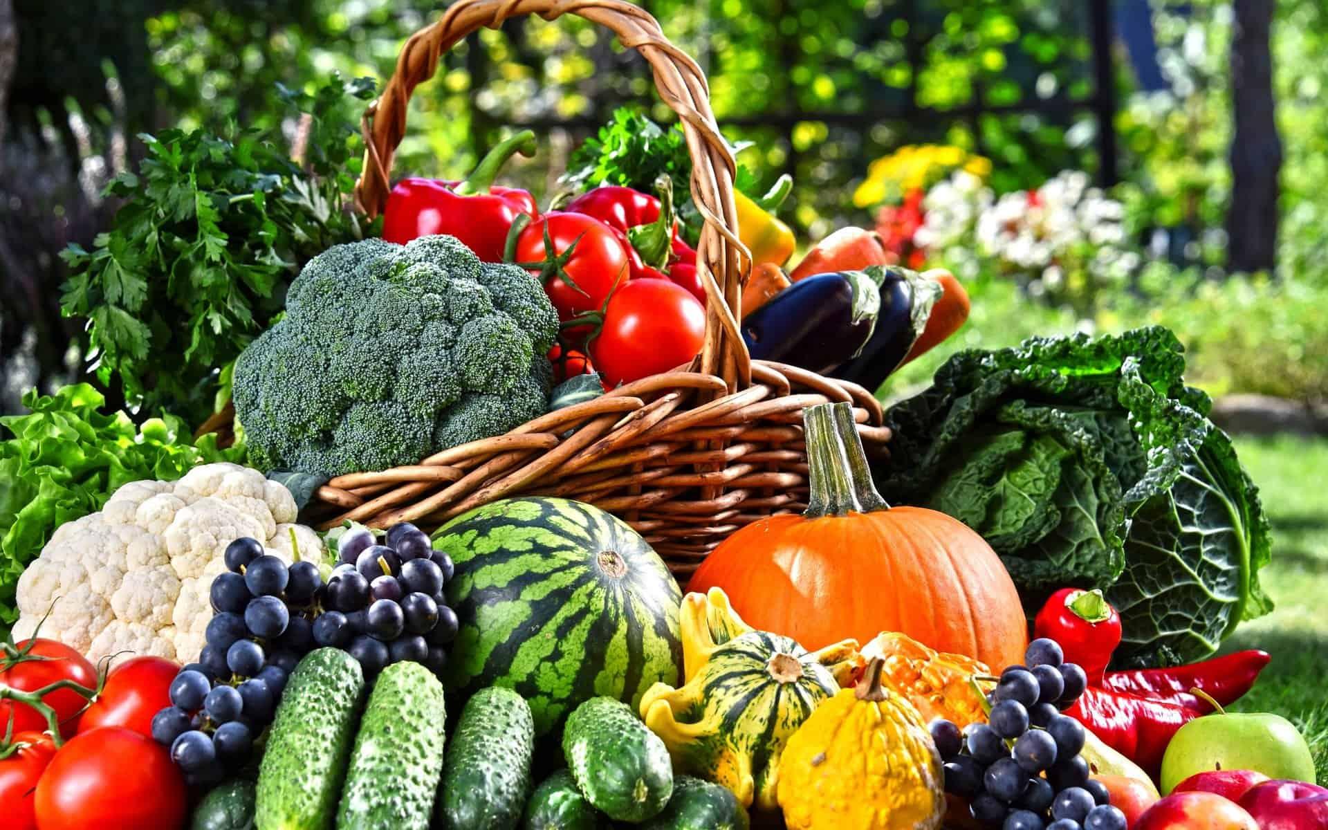 получите энергию свежих овощей и фруктов