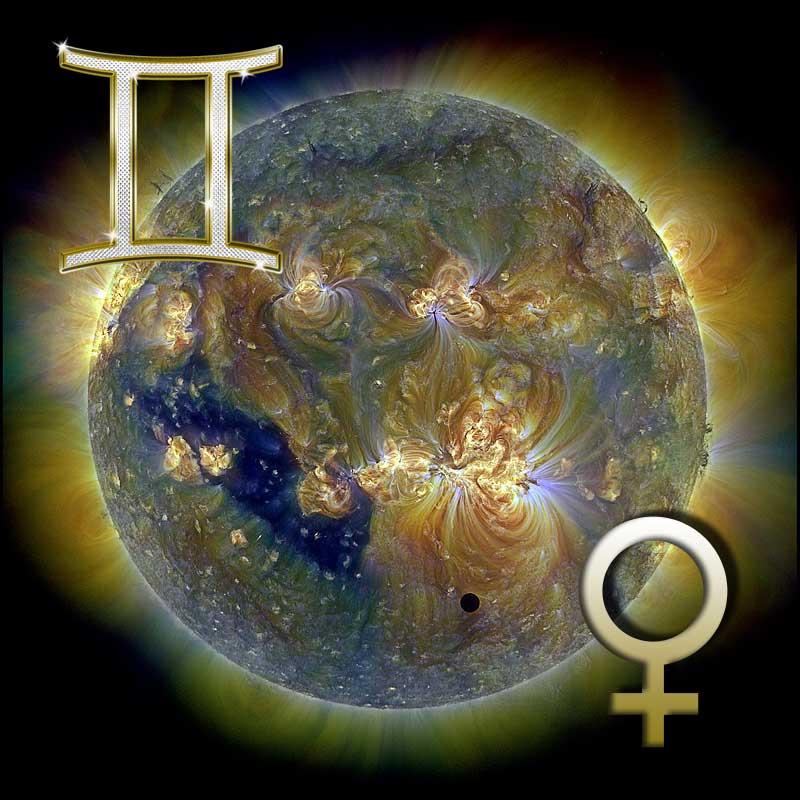 венера в близнецах у мужчины