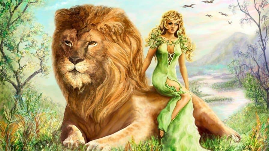 венера во льве у женщины
