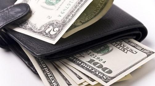 как подарить кошелёк