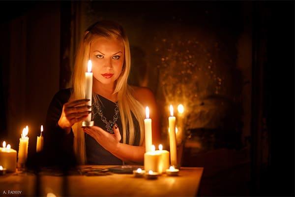 гадание с помощью свечей