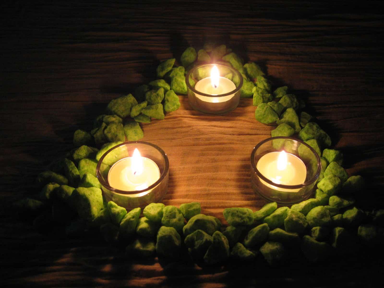 гадания на будущее со свечами