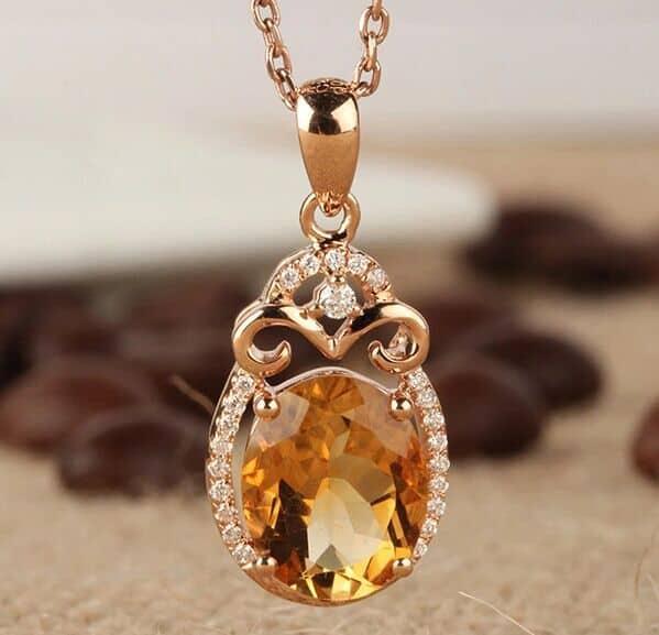 бриллиант и цитрин не подходят Водолею