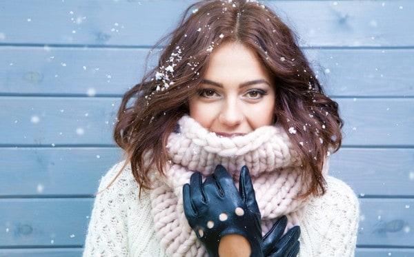 мороз - ещё одна причина красноты ушей