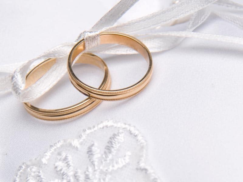 Годовщины свадьбы по годам с названиями и приметами