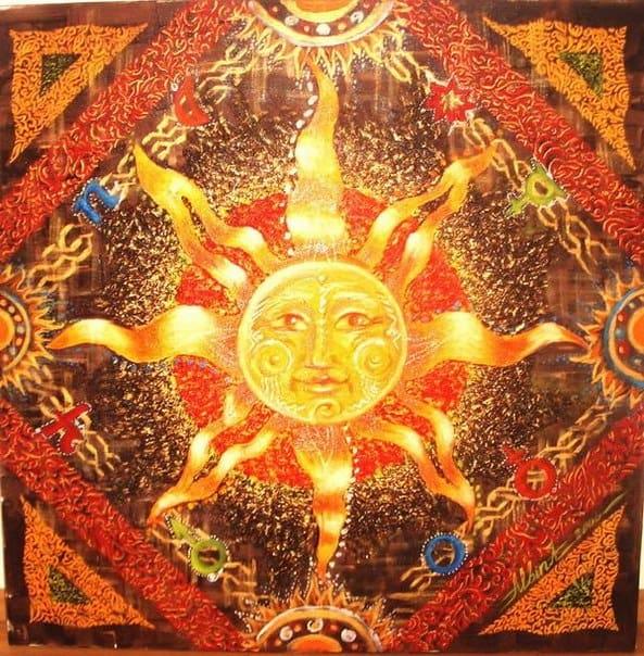 знак солнца у славян