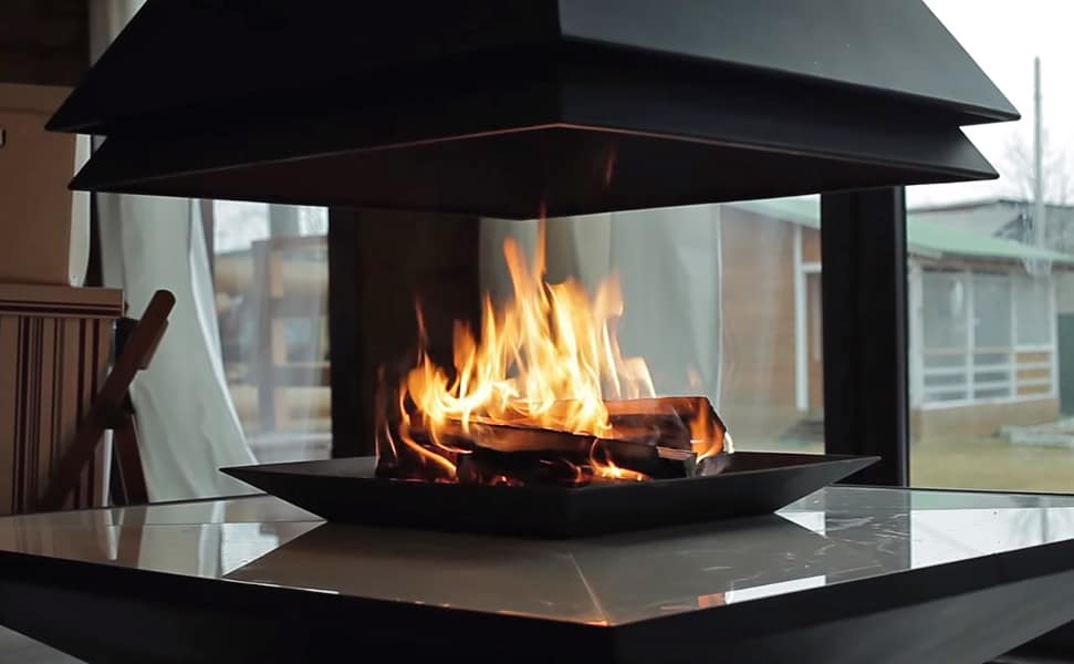 энергия живого огня в доме очень полезна