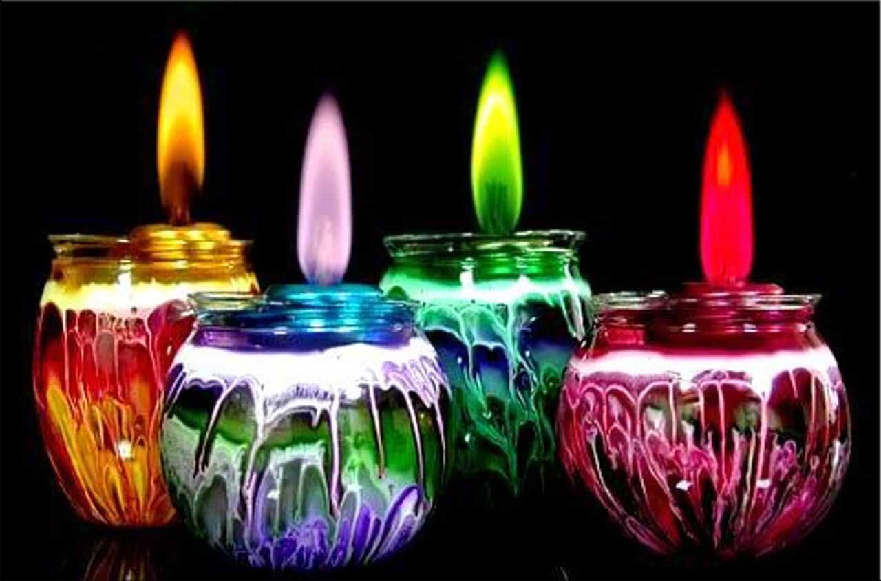 на магию свечи влияет её цвет