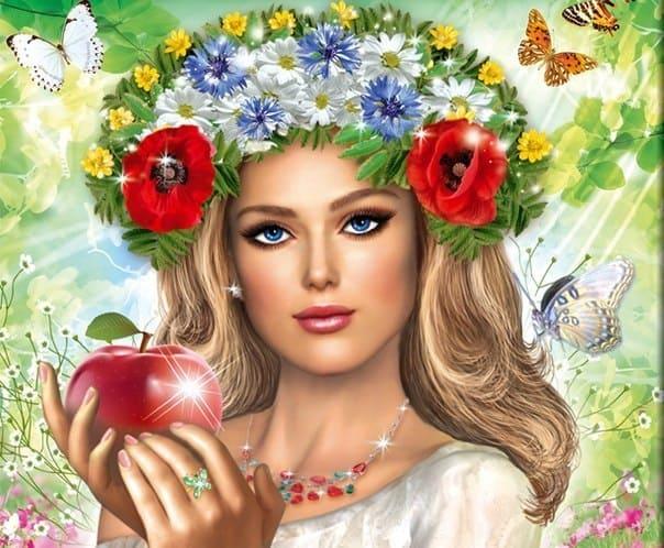 богиня Лада очень красива