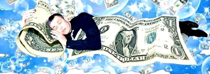 К чему снятся деньги - бумажные крупные купюры