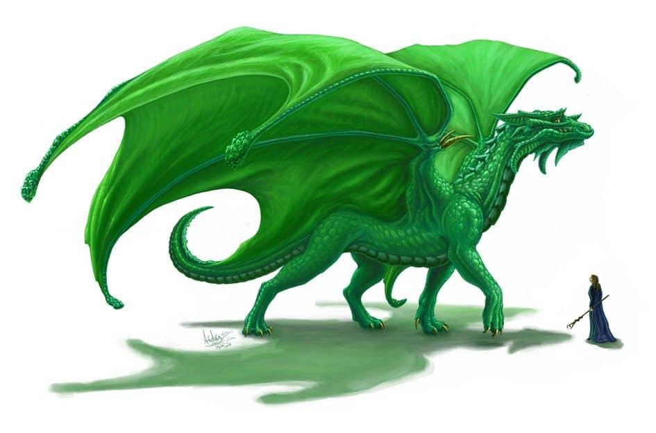 год зеленого дракона