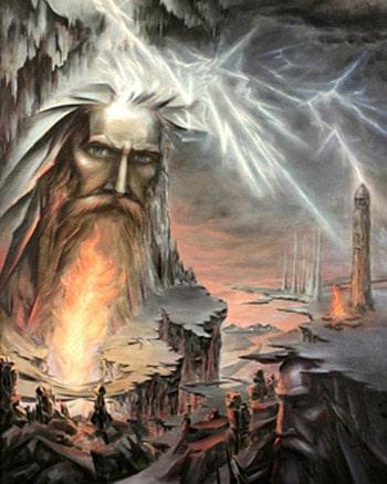 Перун — славянский Бог Грома и Справедливости