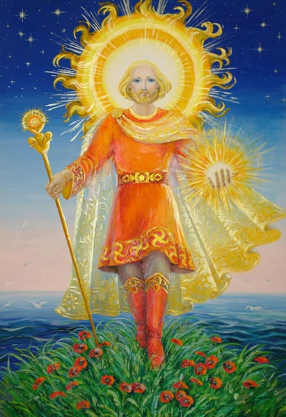 Дажбог - бог солнца у славян
