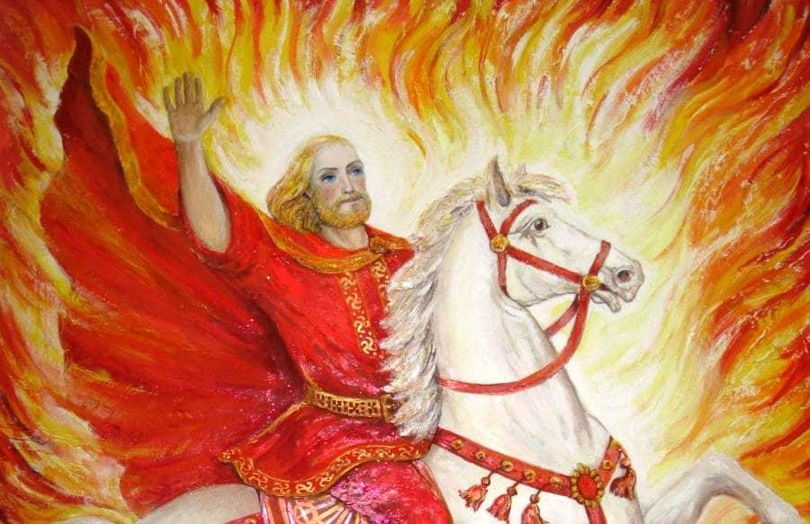 изображение бога Ярило