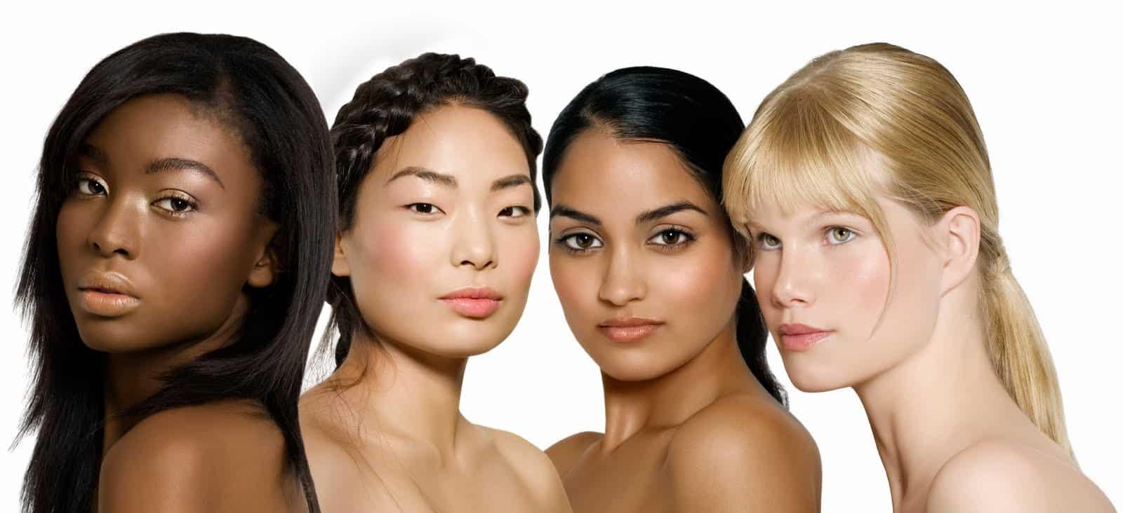 разные расы на земле