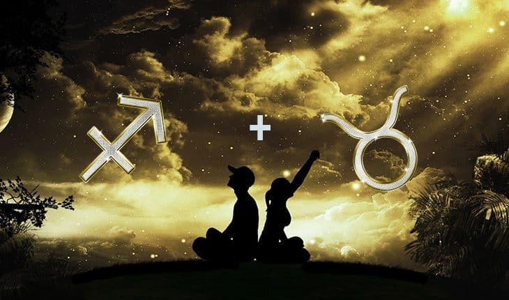 Совместимость знаков Телец   Стрелец в любви и дружбе