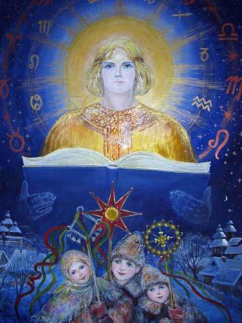 Хорс - бог зимнего солнца