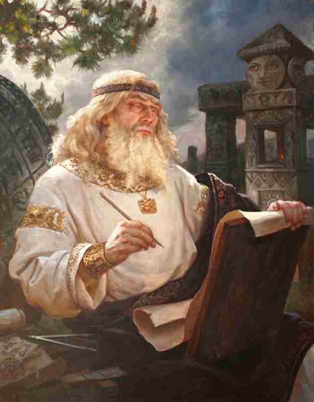 мудрый Числобог - повелитель времени