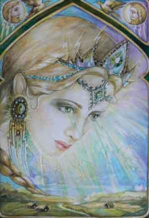 Дива - Додола, жена Перуна