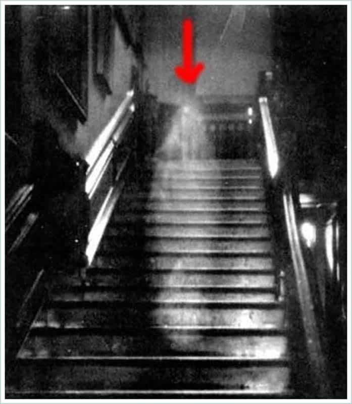 известное фото привидения