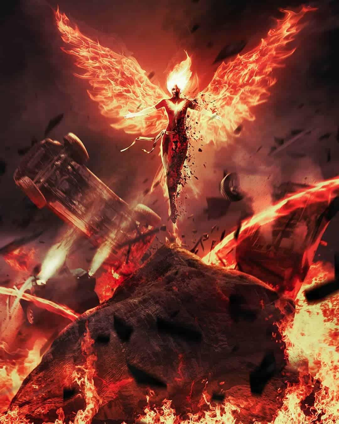 произойдёт возрождение феникса из пепла