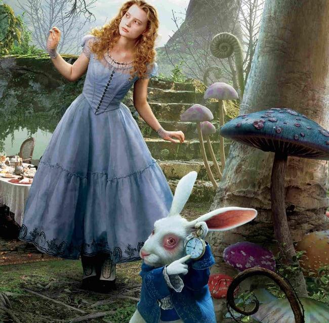сказочный прототип таких людей - Алиса в Стране Чудес