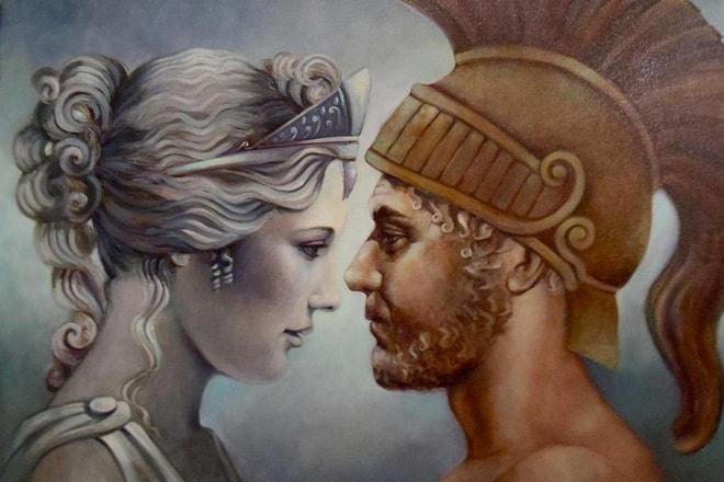 Венера (Афродита) и Арес (Марс)