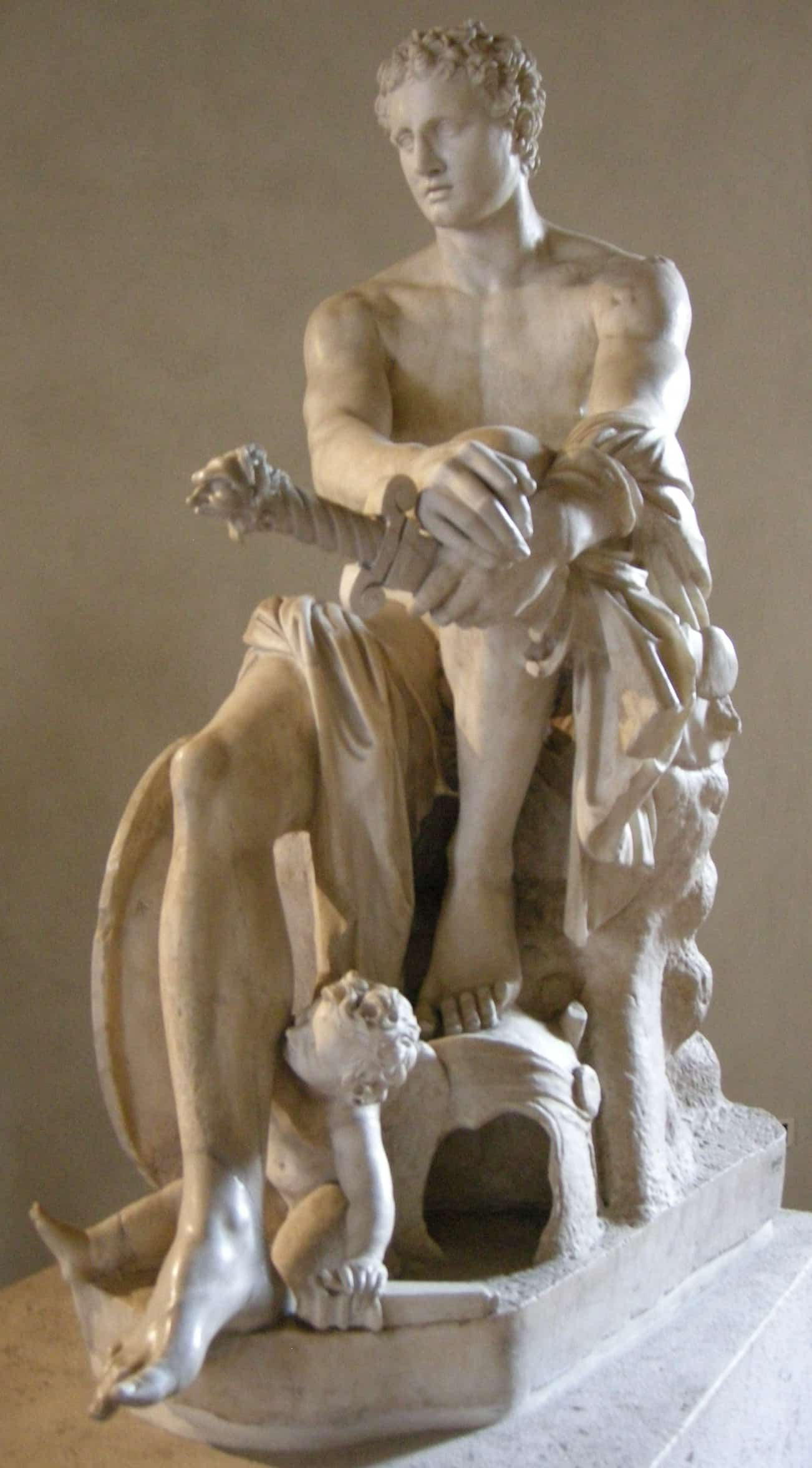 статуя Ареса (Марса)