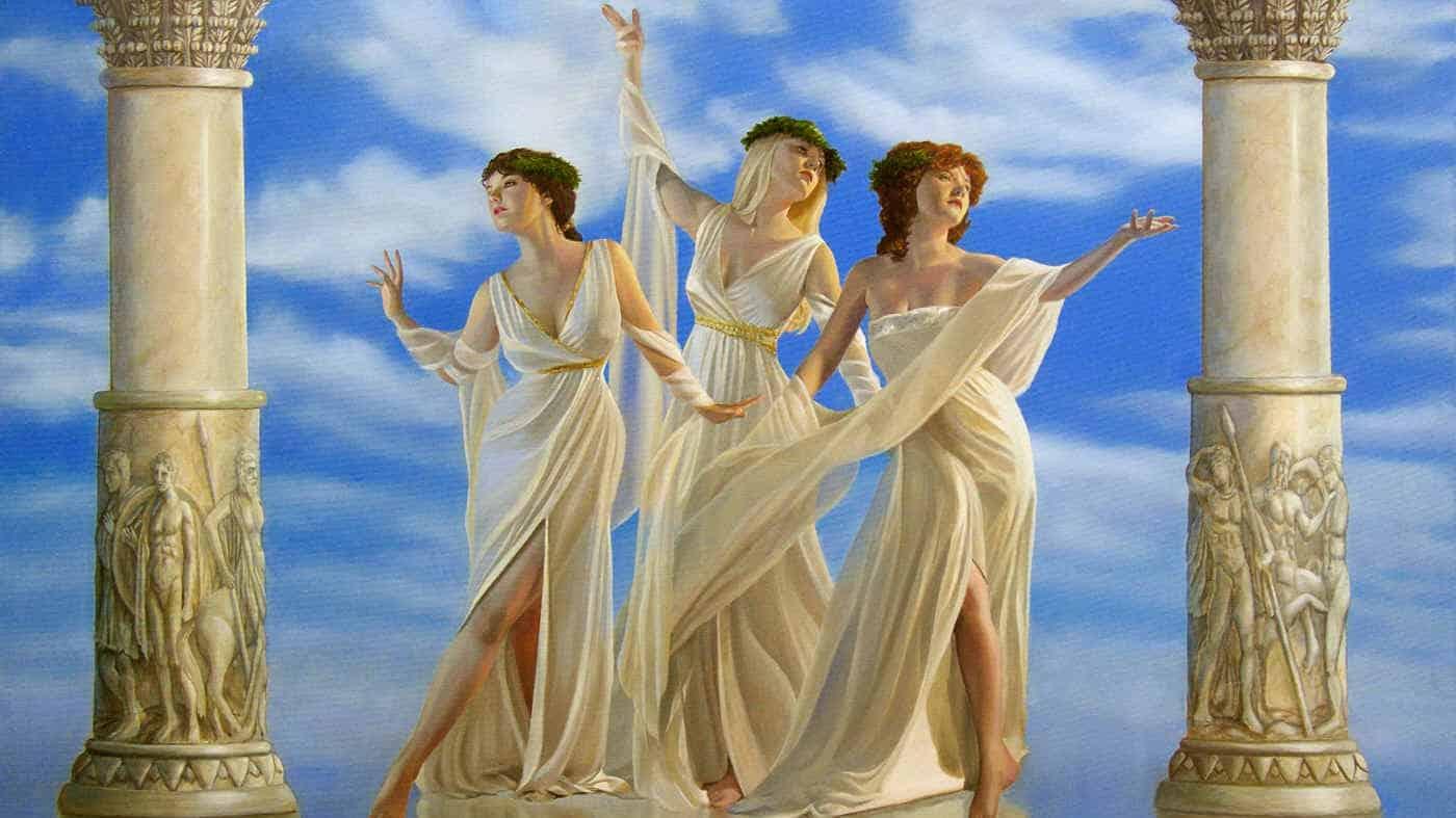 древнегреческие имена тесно связаны с мифологией