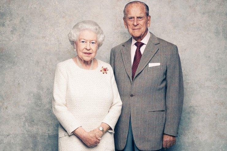 благодатная свадьба королевы Елизаветы II и Филиппа