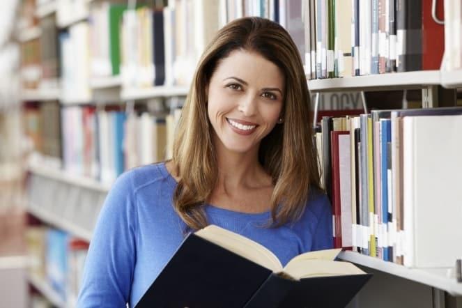 такая женщина любит учиться