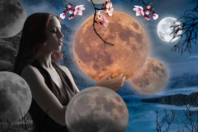 луна в знаке дева
