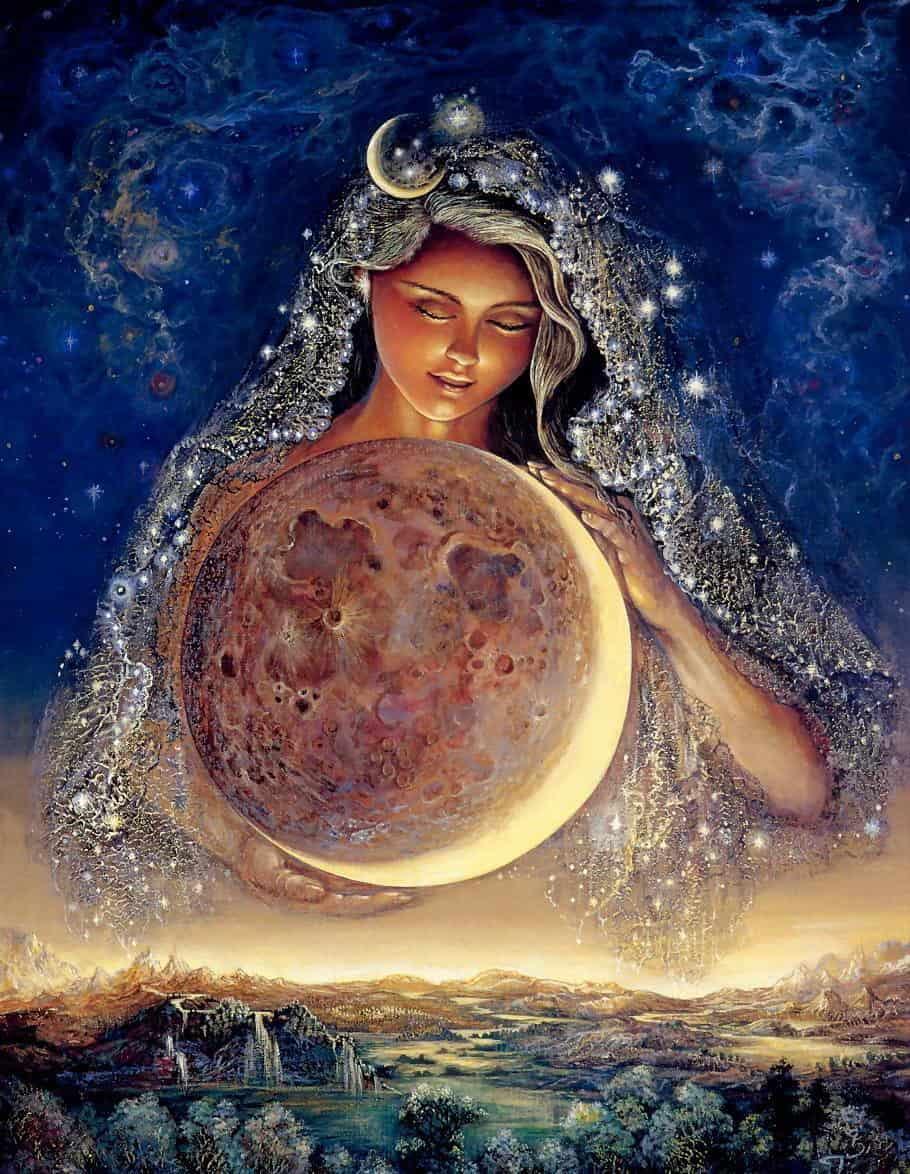 Селена - добрая Луна