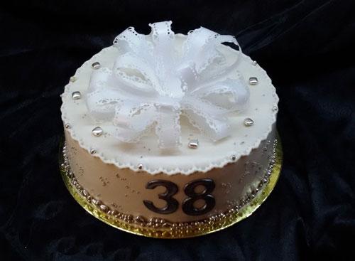торт для ртутной свадьбы