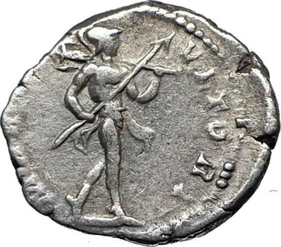 Марс на древнегреческой монете
