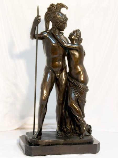 Бронзовя скульптура Марс и Венера