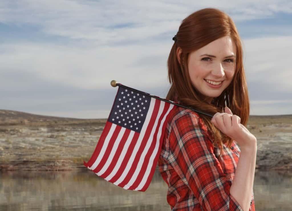 американские имена женские: история
