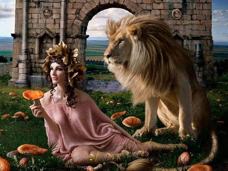 венера в льве для женщин