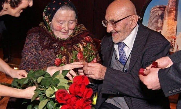 супруги Агаевы, отметившие 100 лет брака