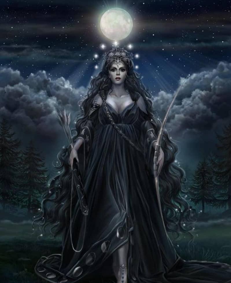 Лилит в Зодиакальном созвездии Стрельца
