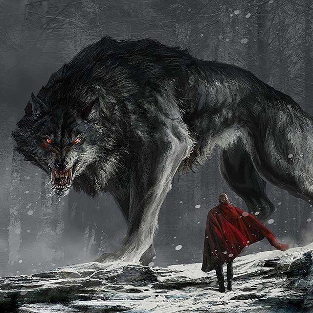 Фенрир - волк ужаса в мифах скандинавов