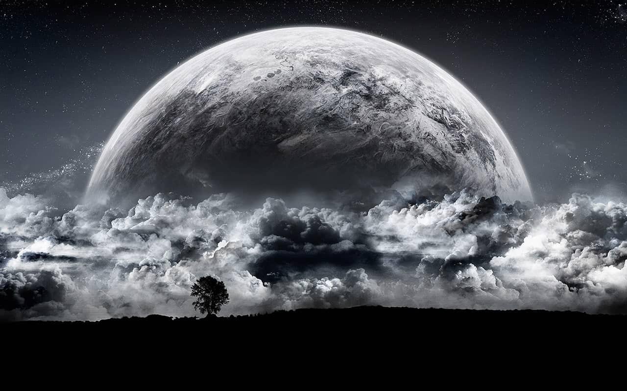Чёрная Луна - важный аспект в гороскопе