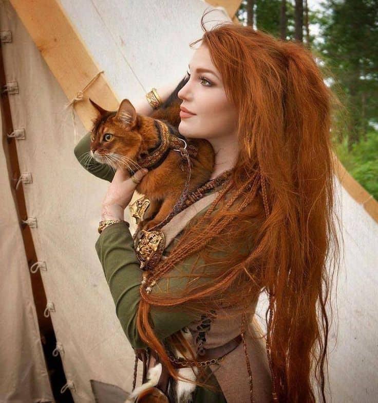 кельтская женщина