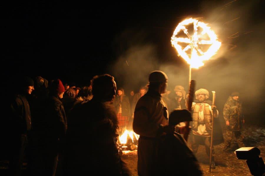 празднование дня Коляды у славян
