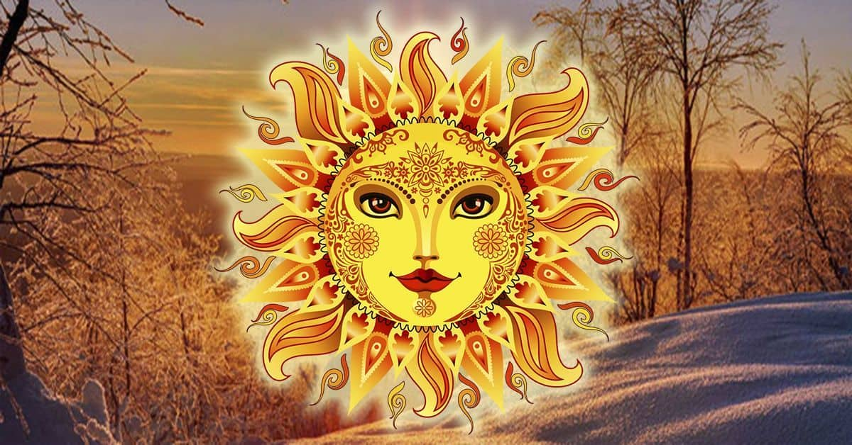 праздник Коляды символизирует рождение молодого солнышка