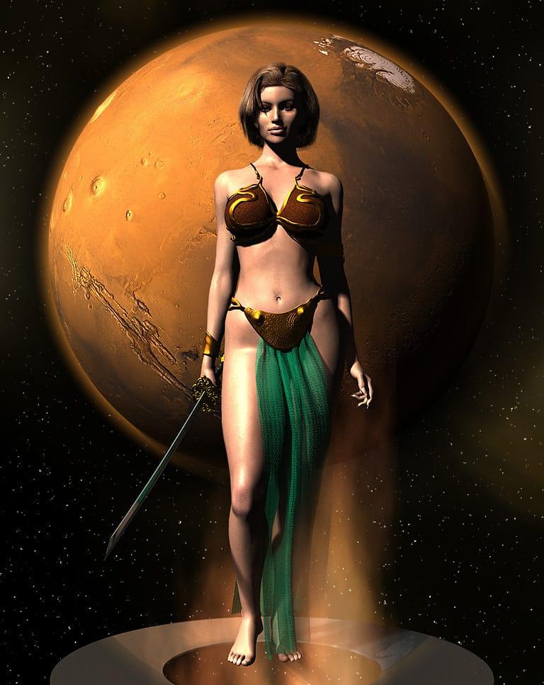 марс в стрельце у женщины